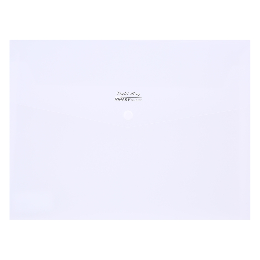 Bìa Nút Kinary No. A530 - Mẫu 2 - Màu Trắng