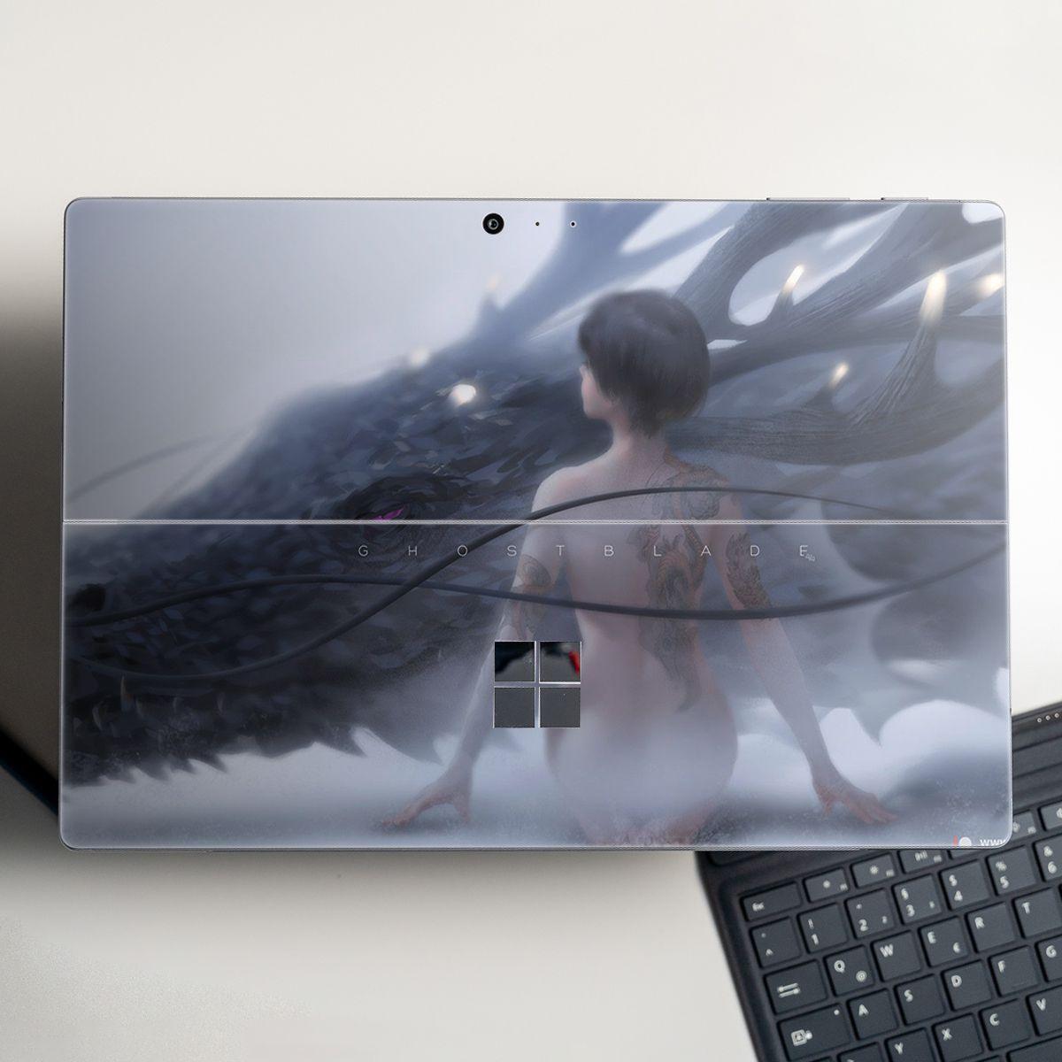 Skin dán hình Fantasy x06 cho Surface Go, Pro 2, Pro 3, Pro 4, Pro 5, Pro 6, Pro 7, Pro X - Mã: fts059 - Surface Pro X