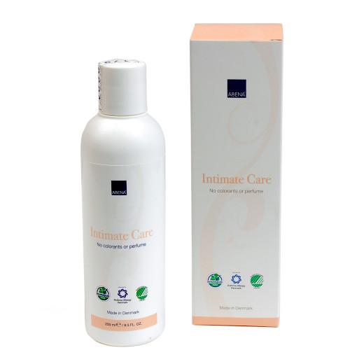 Dung dịch vệ sinh phụ nữ nhập khẩu Đan Mạch - Abena Intimate Care (200ml) - Cân bằng độ pH giảm viêm ngứa