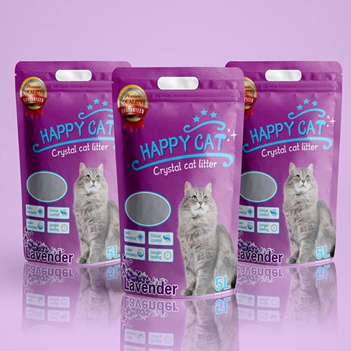Cát tinh thể Happy Cat 5L