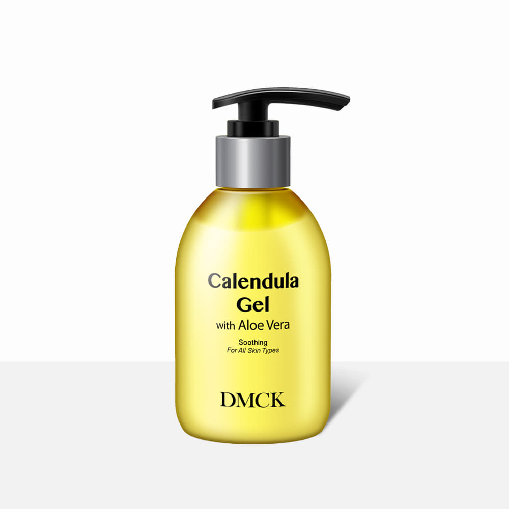 Gel dưỡng ẩm làm dịu da, Làm dịu da bị kích ứng, Mềm da, Dưỡng da, Mùi hương dịu nhẹ - DMCK  DMCK Calendula Gel with Aloe Vera