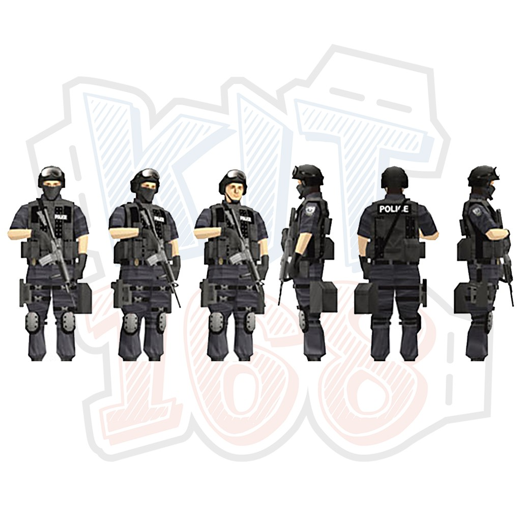 Mô hình giấy Game SWAT