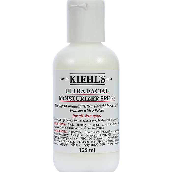 Kem dưỡng ngày Kiehls Ultra Facial Moisturizer SPF30 - 125ml