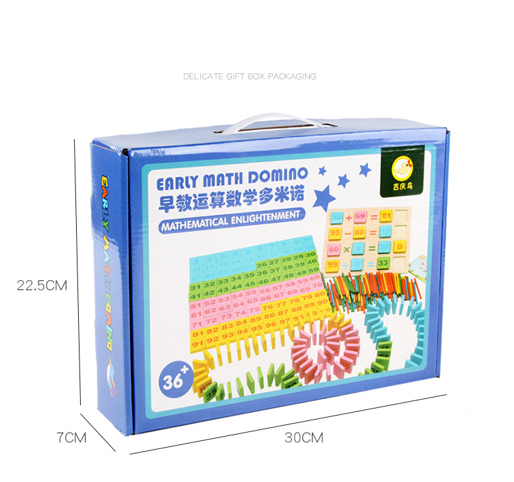 Bảng Domino Tập Đếm Cho Trẻ Từ 3-5 Tuổi Nhiều Màu Sắc Giúp Phát Triển Trí Não Trẻ Toàn Vẹn, Vừa Học Vừa Chơi