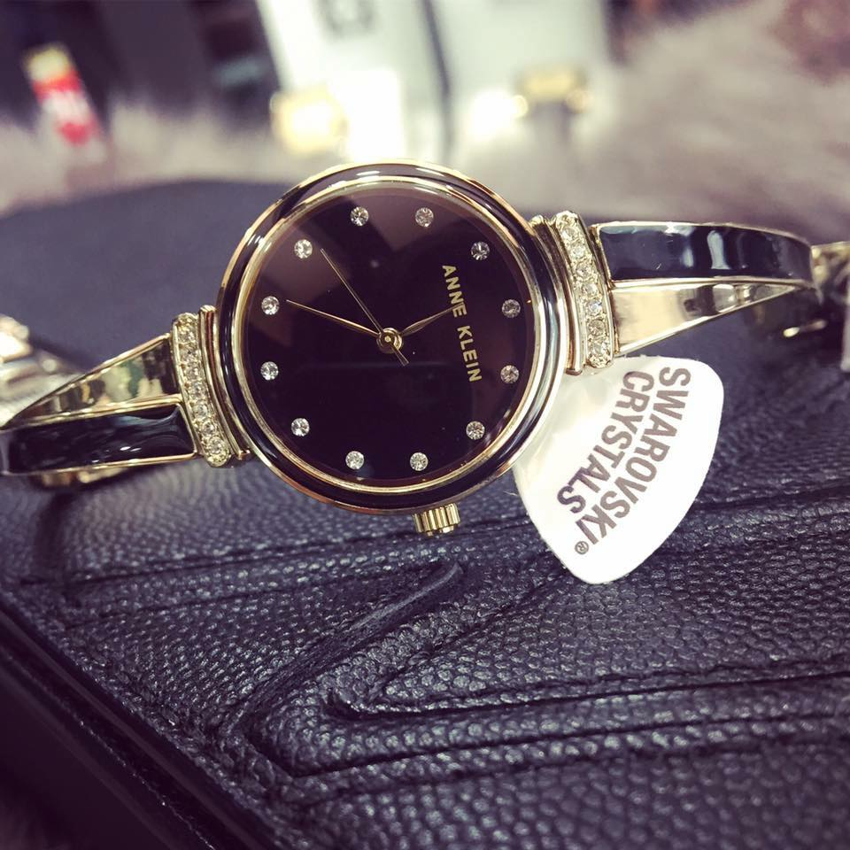 Đồng hồ đeo tay nữ hiệu Anne Klein AK/2216BKGB