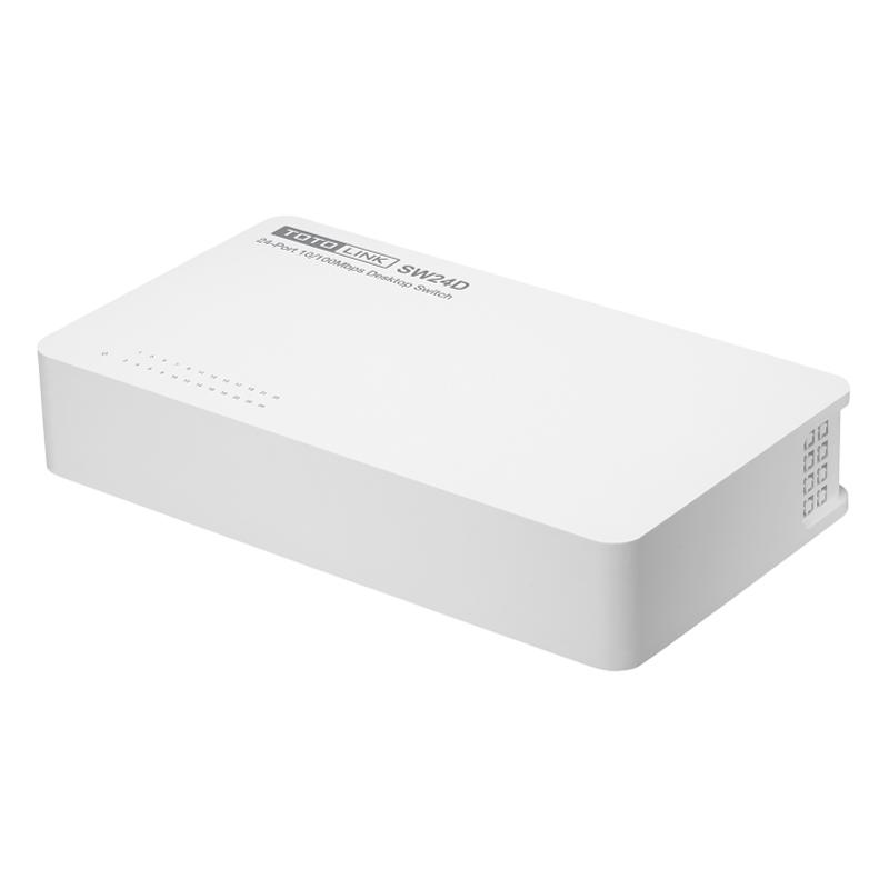 TotoLink SW24D - Switch 24 Cổng Tốc Độ 10/100Mbps - Hàng Chính Hãng