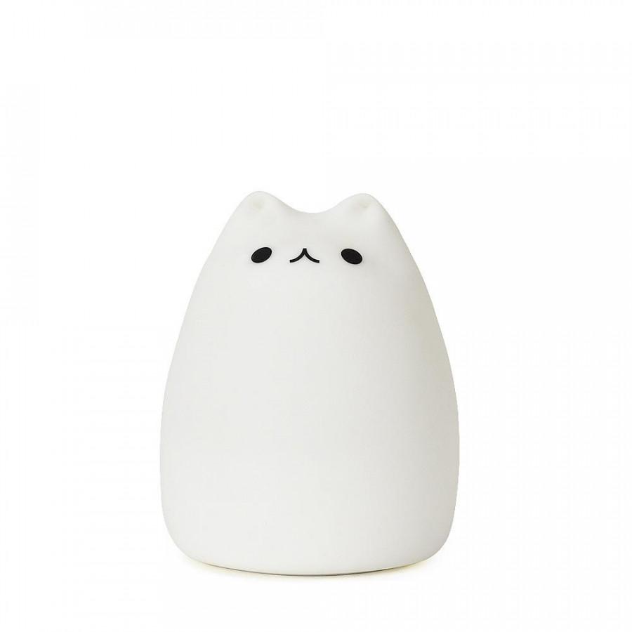 Đèn Ngủ Silicon Dẻo Hình Mèo
