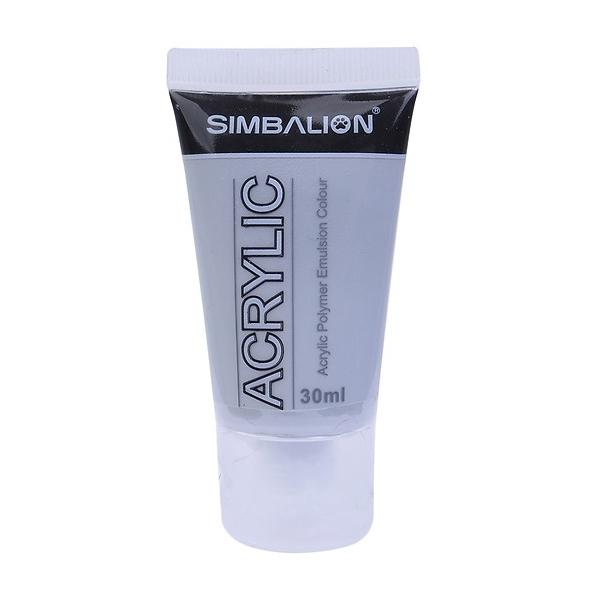 Màu Vẽ Simbalion Acrylic 30ml NAC30 - 25 - Xám