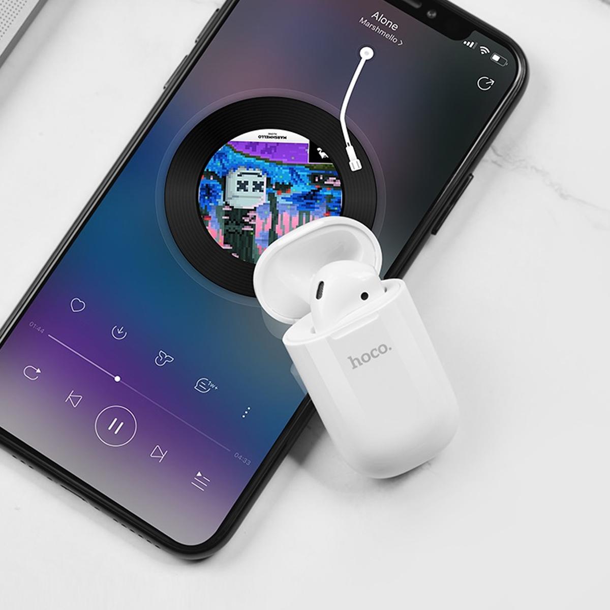 Tai Nghe Bluetooth Hoco E43 + Tặng Dây Đeo Silicon - Hàng Chính Hãng