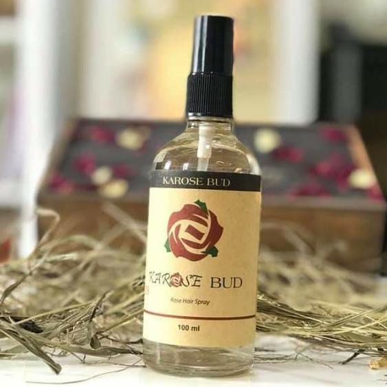 Xịt Dưỡng Tóc Hoa Hồng Karose Bud (100 ml)