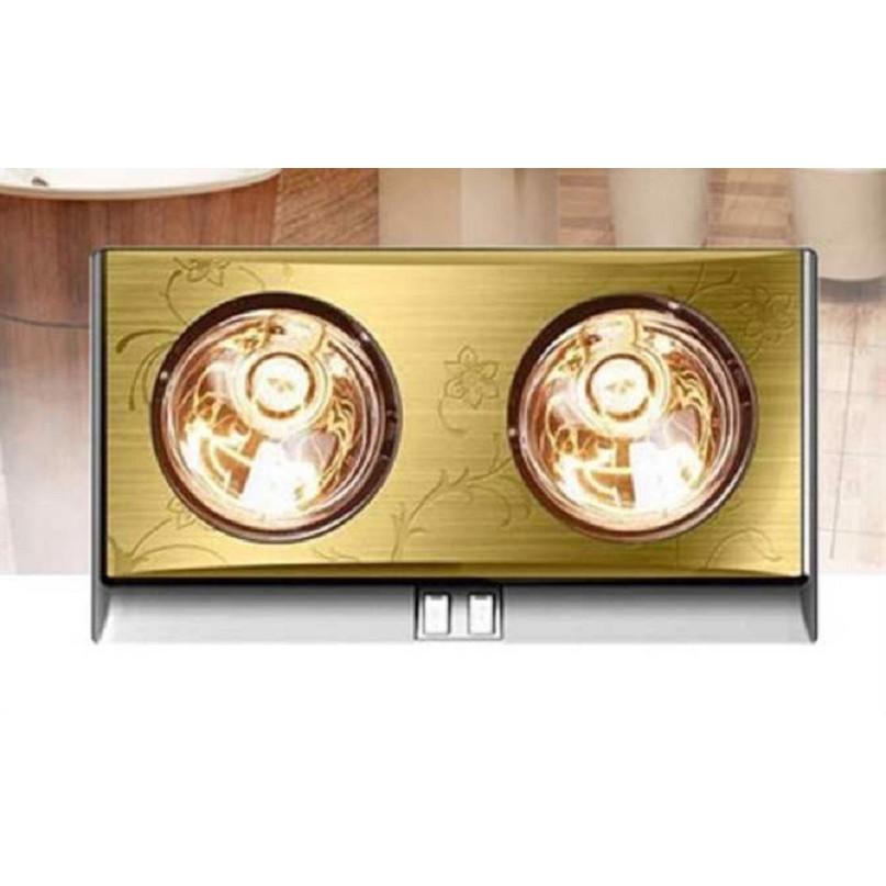Đèn sưởi nhà tắm KBG2 bóng vàng (2 bóng)