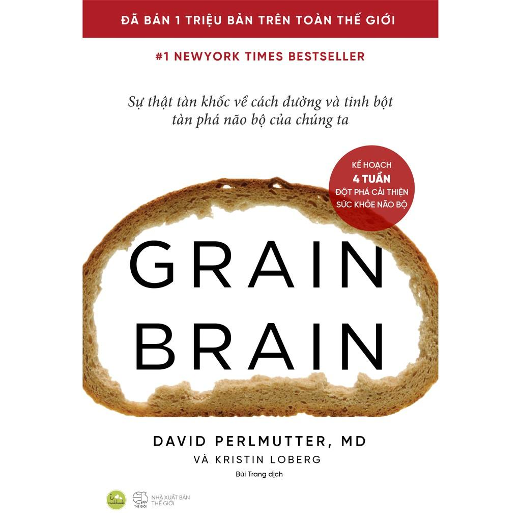 Sách - Grain Brain (Bìa mềm) (tặng kèm bookmark)
