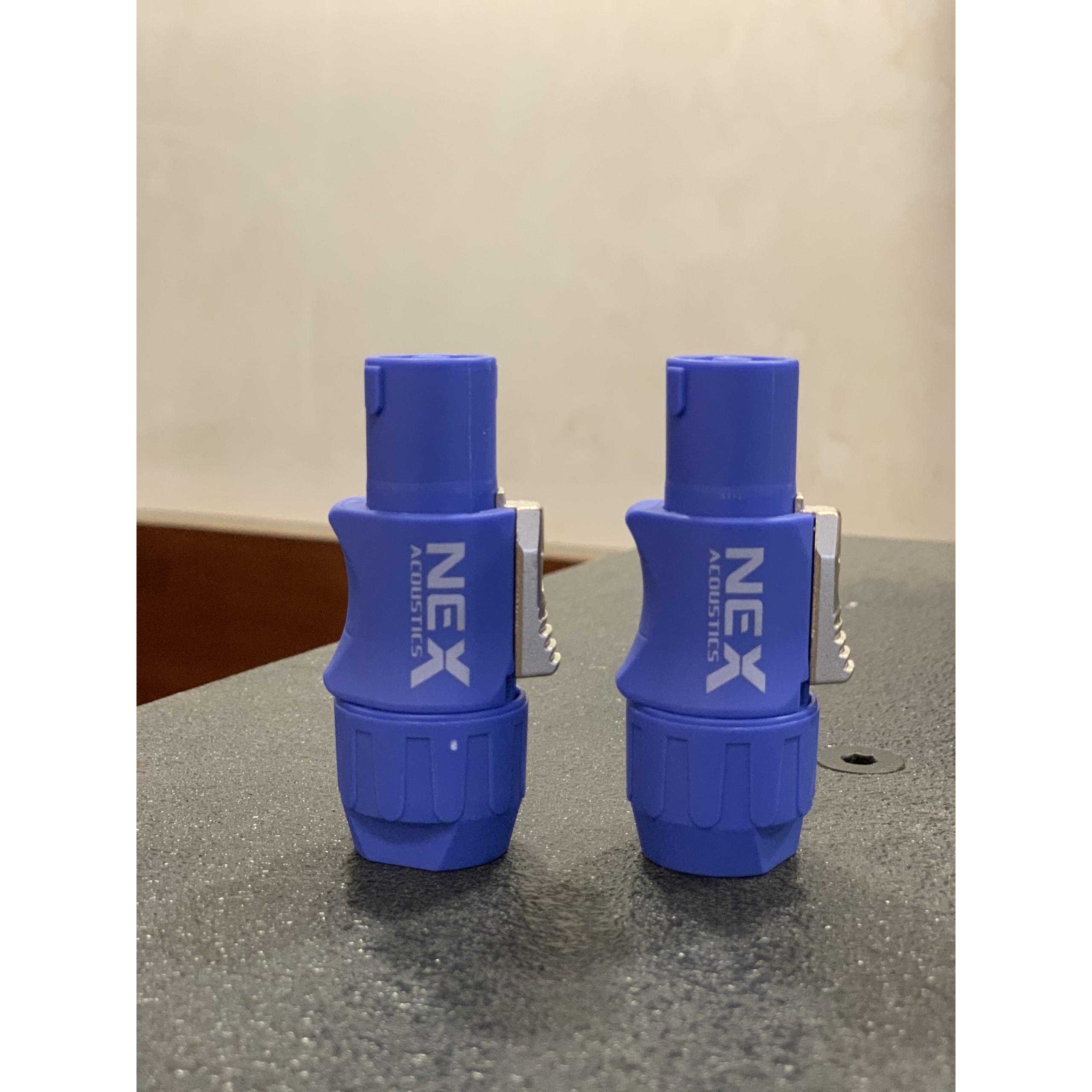 Jack loa Speakon thương hiệu NEX - Mã NL4FX - Hàng nhập khẩu