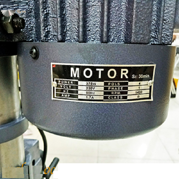Máy khoan bàn chạy điện Hp-16 375W đầu cặp 16mm