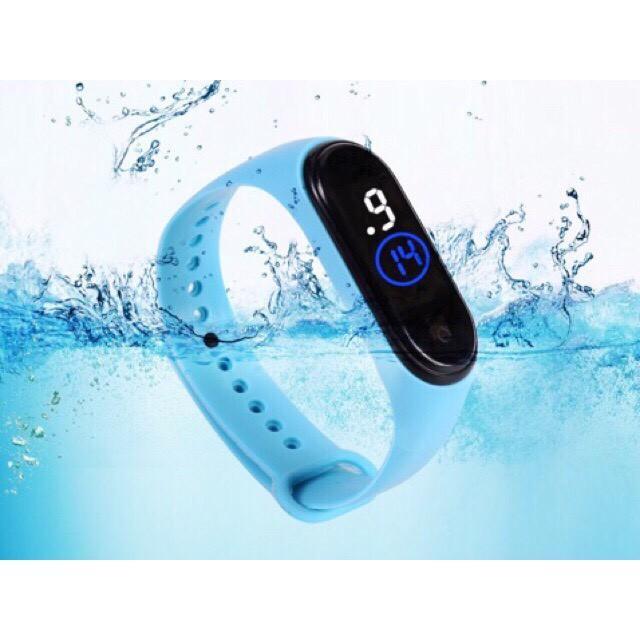 Đồng hồ unisex thể thao Ulzzang sport đèn led chống nước tốt thời trang năng động giới trẻ