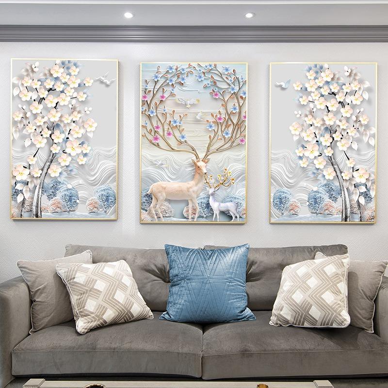 Tranh Canvas Treo Tường Hiện Đại _ Tranh Đôi Nghệ Thuật