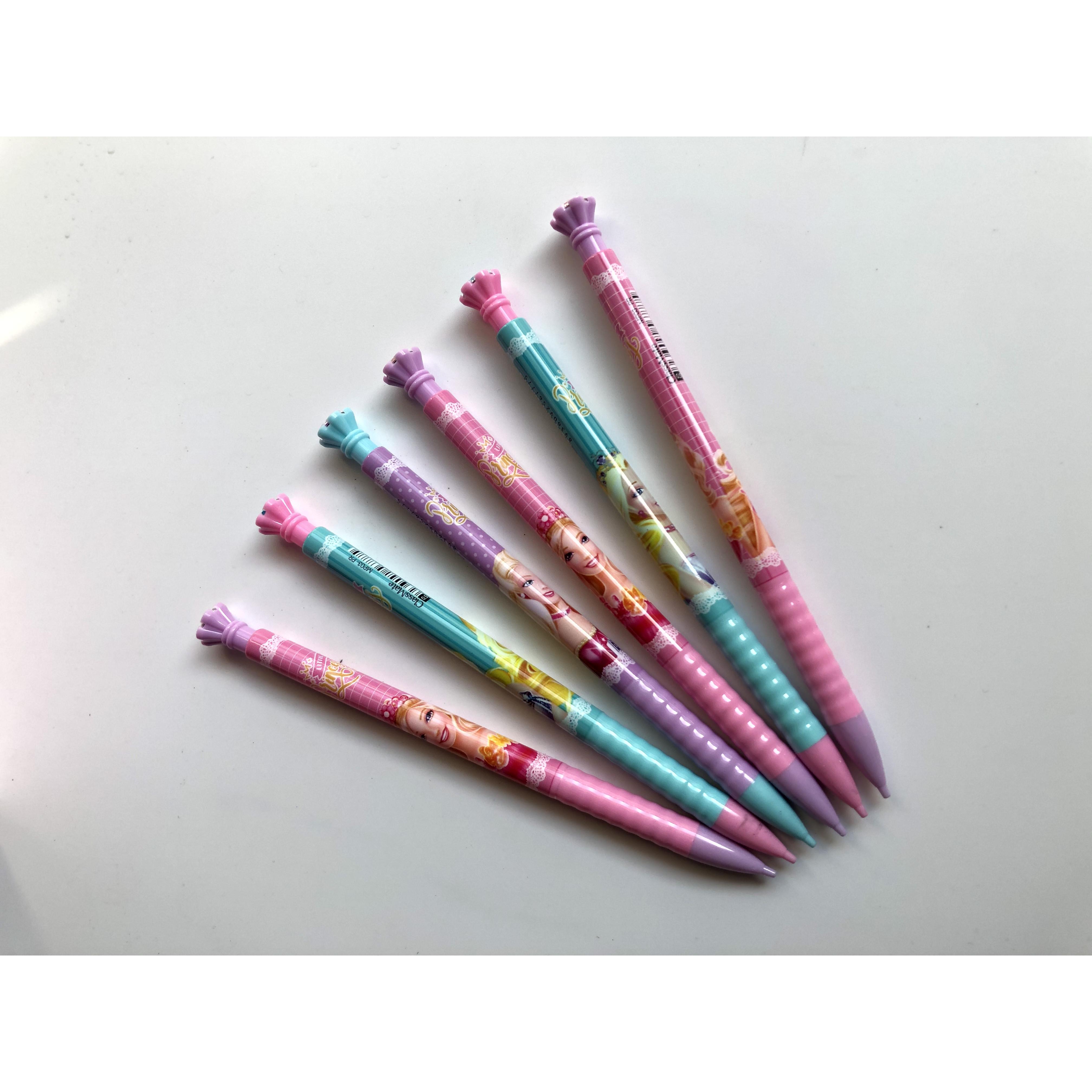 COMBO 6 cây Bút chì bấm Princess 0.5mm