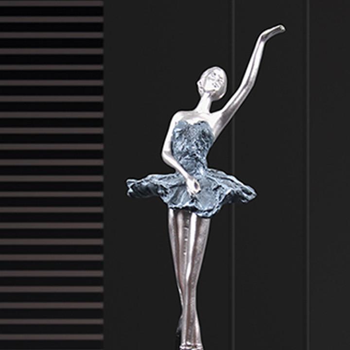 Tượng vũ công múa bale DCB2148 - Decor trang trí để bàn