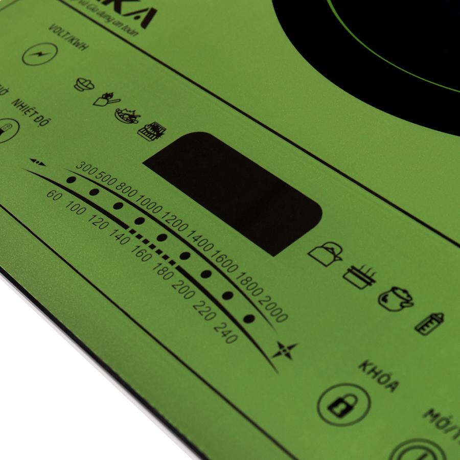 Bếp Điện Từ Đơn Siêu Mỏng Taka TKI1A (2000W) - Tặng Nồi Lẩu - Hàng chính hãng