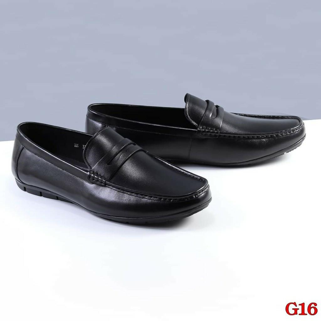 Giày lười nam big size từ 44/49 da bò thật đóng tại xưởng