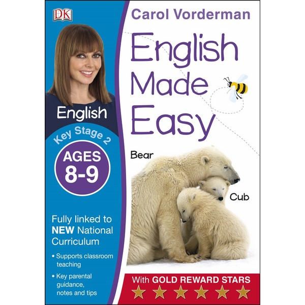 Carol Vorderman: English Made Easy Ages 8-9 Key Stage 2