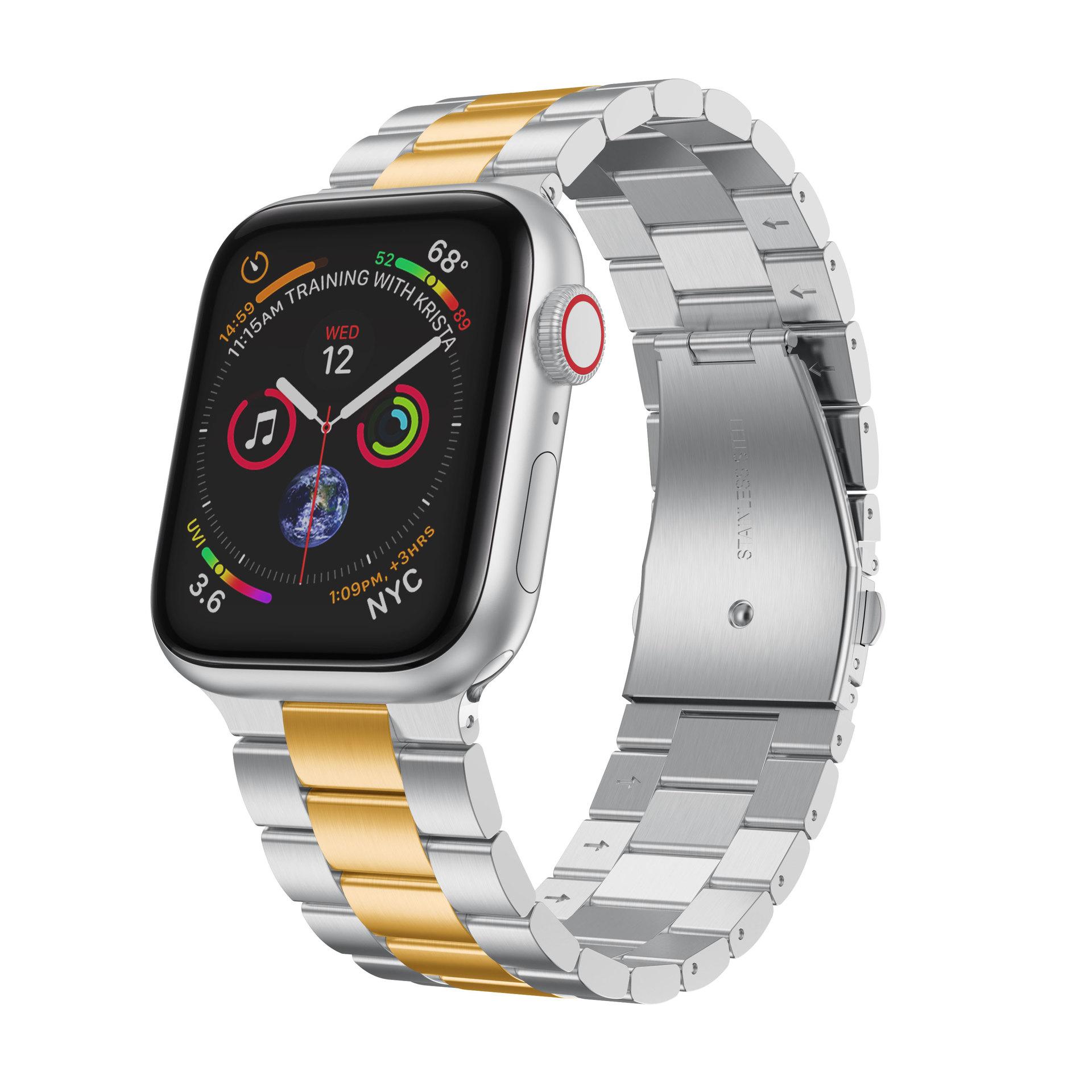 Dây Thép Steel Simple cho Apple Watch Size 38/40/42/44mm