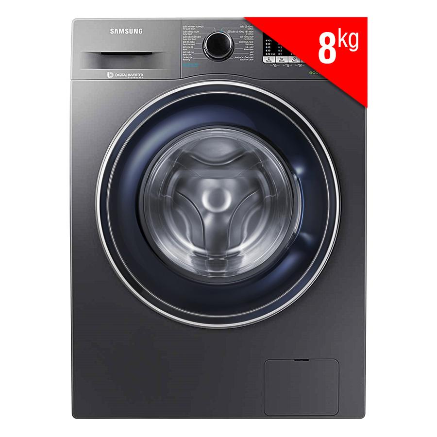 Hình ảnh Máy giặt Samsung Inverter 8 kg WW80J54E0BX/SV