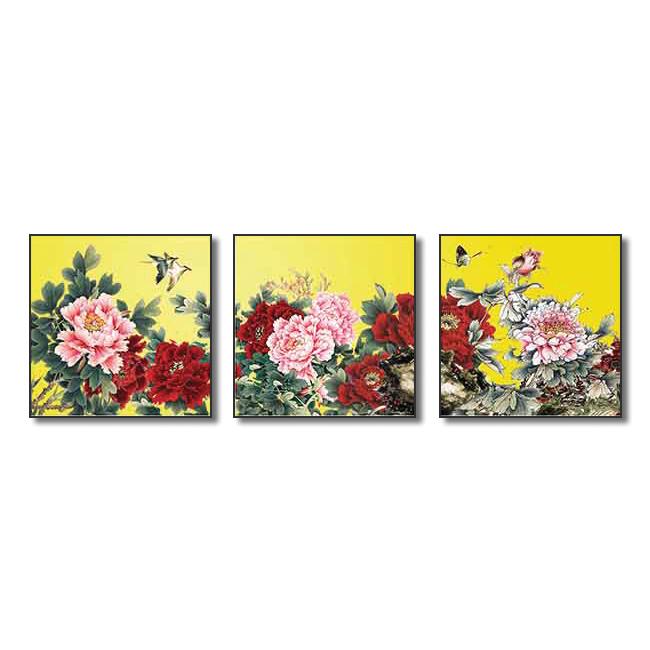 Tranh Hoa Treo Phòng Khách Q6D12-HH00202 Size 50 x 50 cm