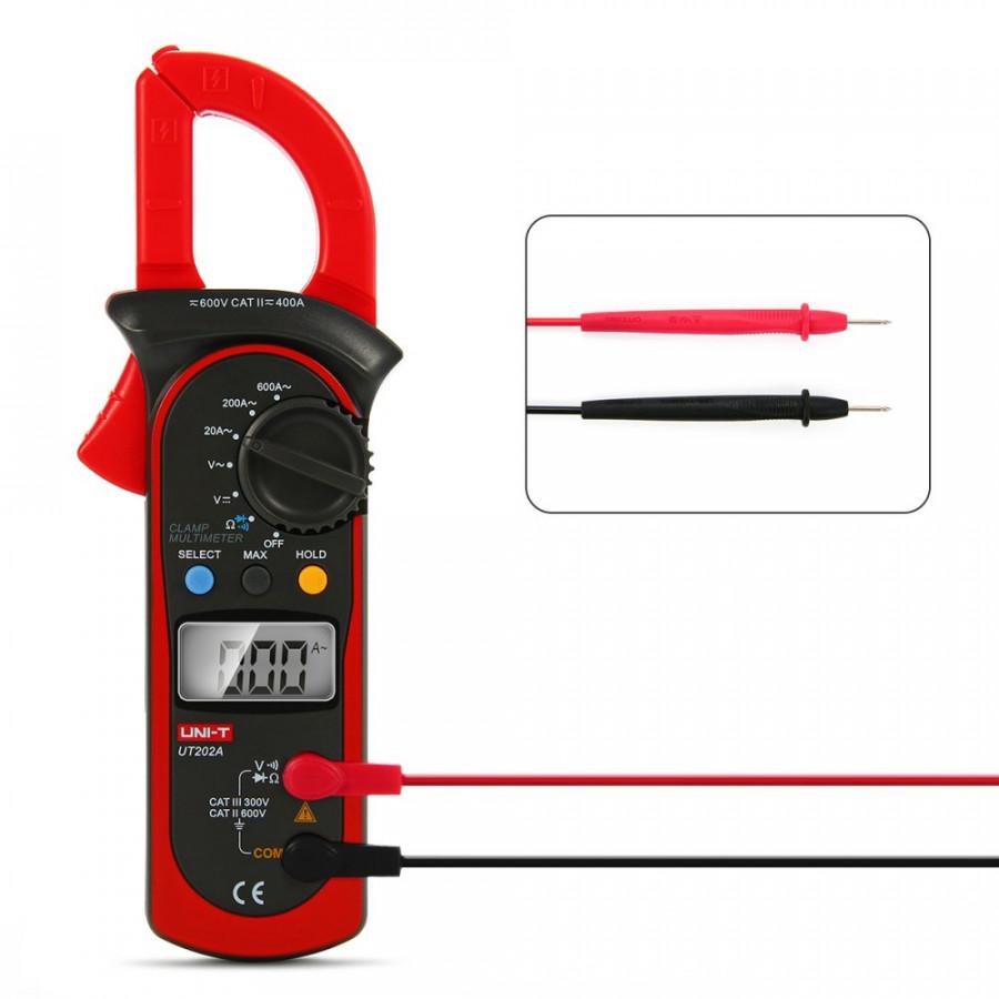 Ampe kìm Uni-t ut 200a  ampe kìm đo điện xoay chiều