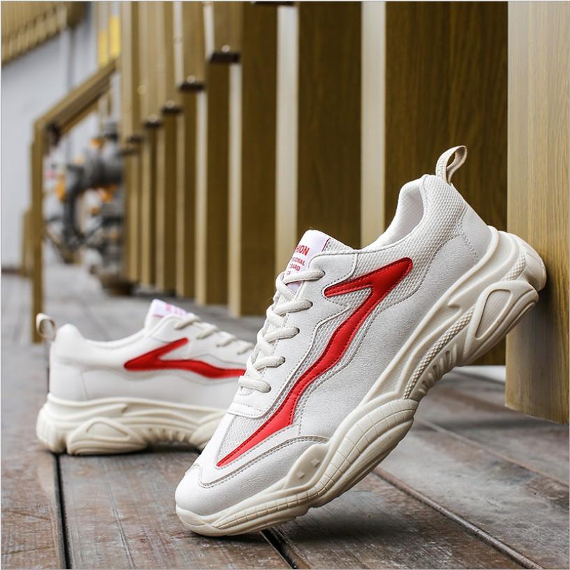 Giày thể thao nam, giày sneaker nam da mềm G058