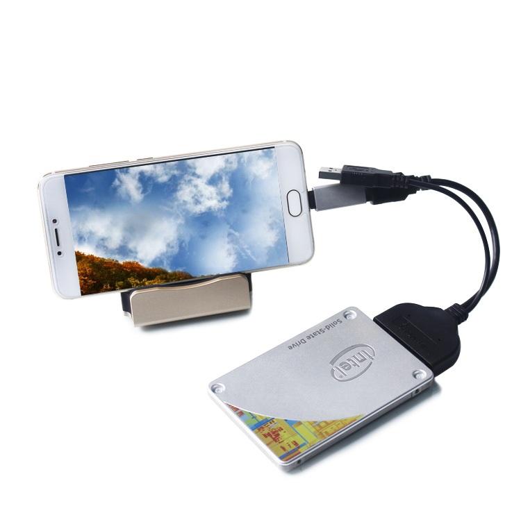 Cáp chuyển Sata to 2 đầu USB 3.0 và 2.0 AZONE