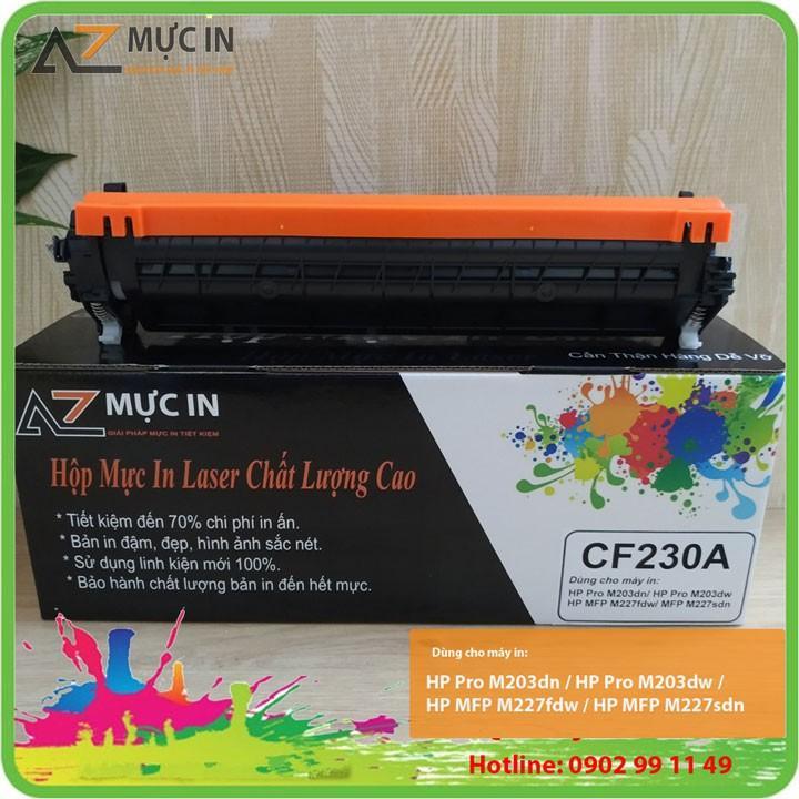 Hộp mực 30A dùng cho máy in Hp M203A, M227FDW In được 1600 trang, bản in đậm đẹp