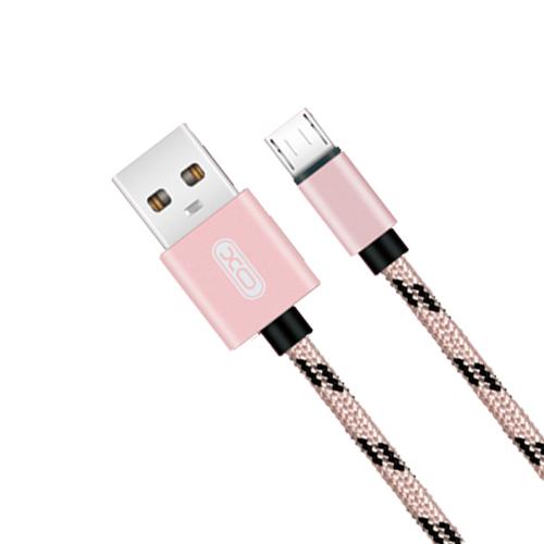 Cáp Dù Sạc Micro USB XO NB10 (1m) - Hàng Chính Hãng