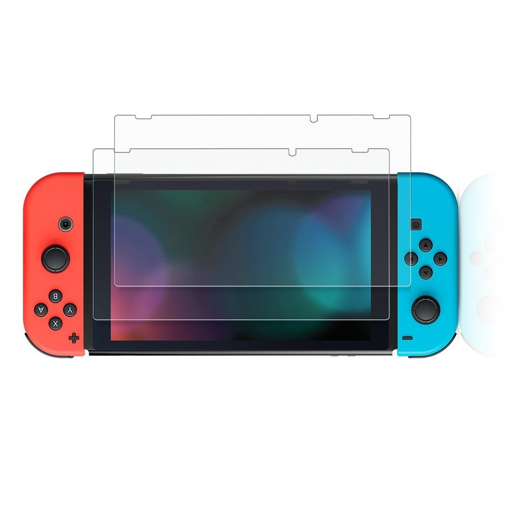 Ugreen 70975  miếng Kính cường lực trong suốt Nintendo Switch Lite cho máy game độ cứng 9H 2 miếng SP139 Hàng Chính Hãng