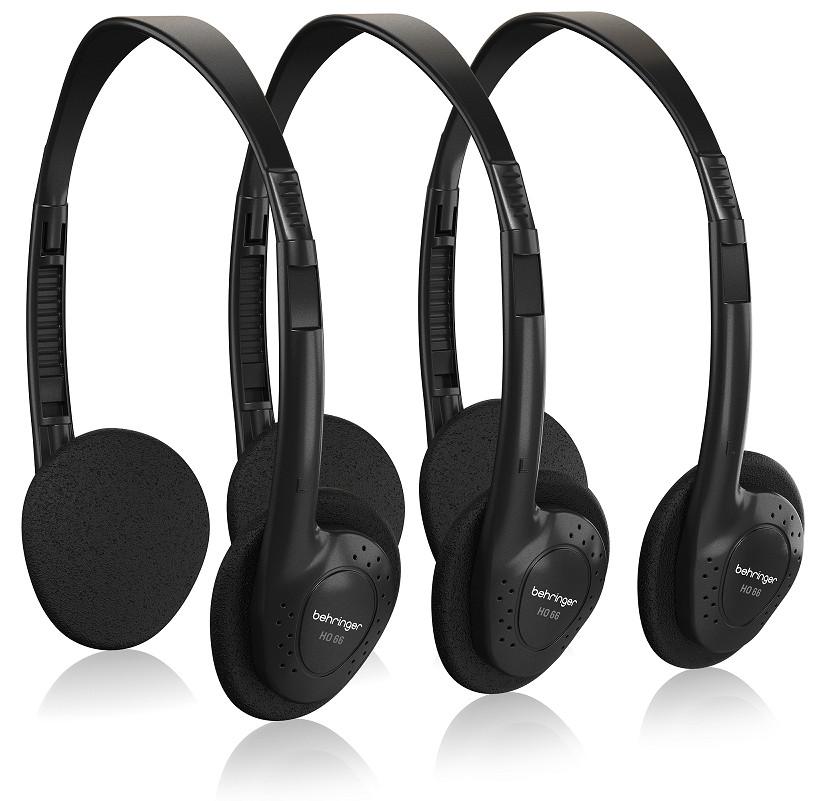 Behringer HO 66 Stereo Headphones 3-Multipack- Hàng Chính Hãng