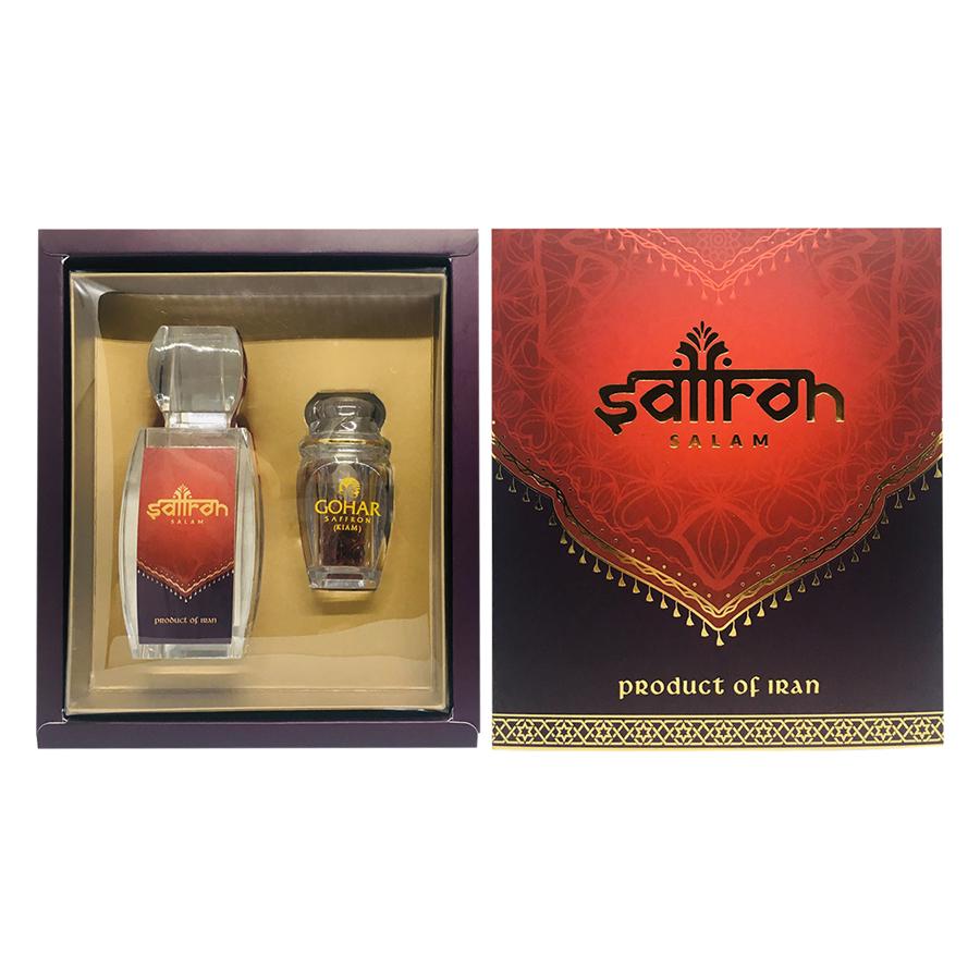 Combo Gazelle Saffron Salam (3g) + Saffron Gohar (1g)