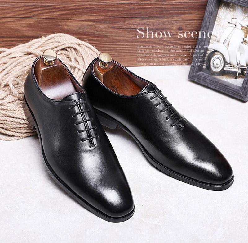 Giày da công sở giày tây nam big size cỡ lớn - GT028