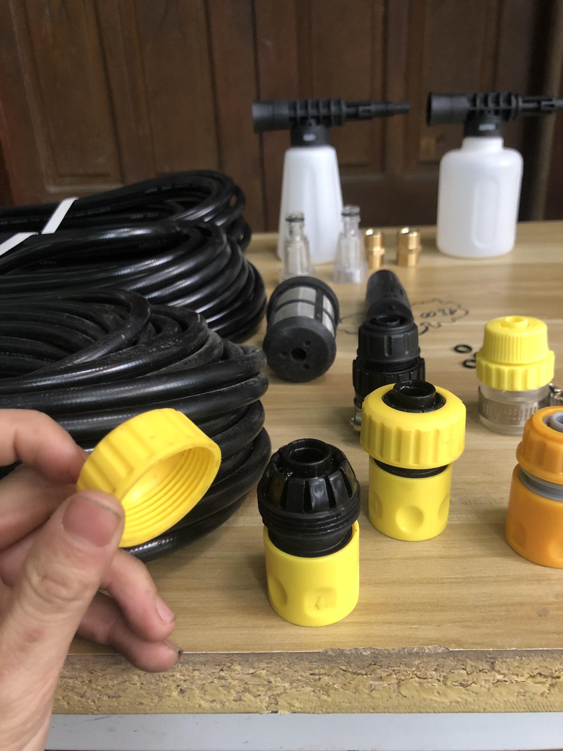 Khớp nối nhanh đầu vào máy xịt rửa cao áp bằng nhựa