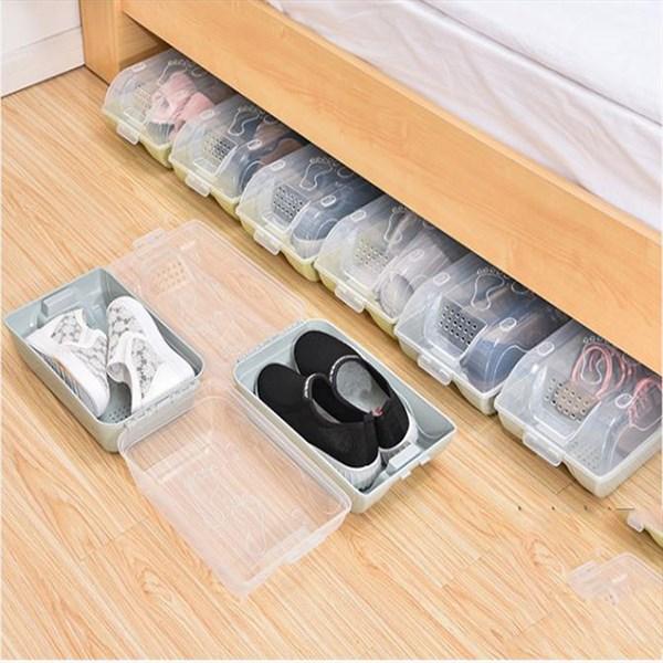 Hộp để giày nhựa GS0125 (giao màu ngẫu nhiên)