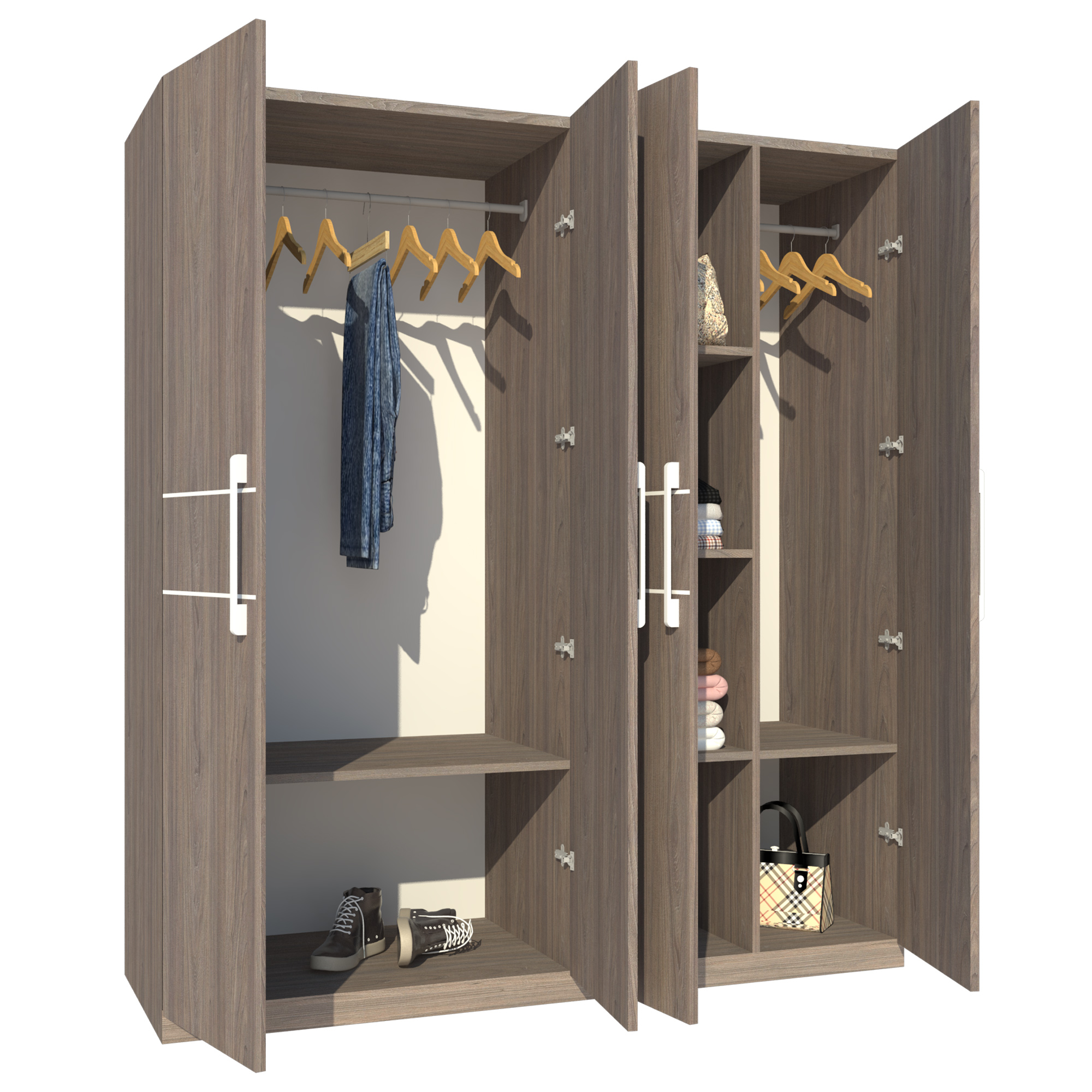 Tủ Áo FT012 (180cm x 200cm)