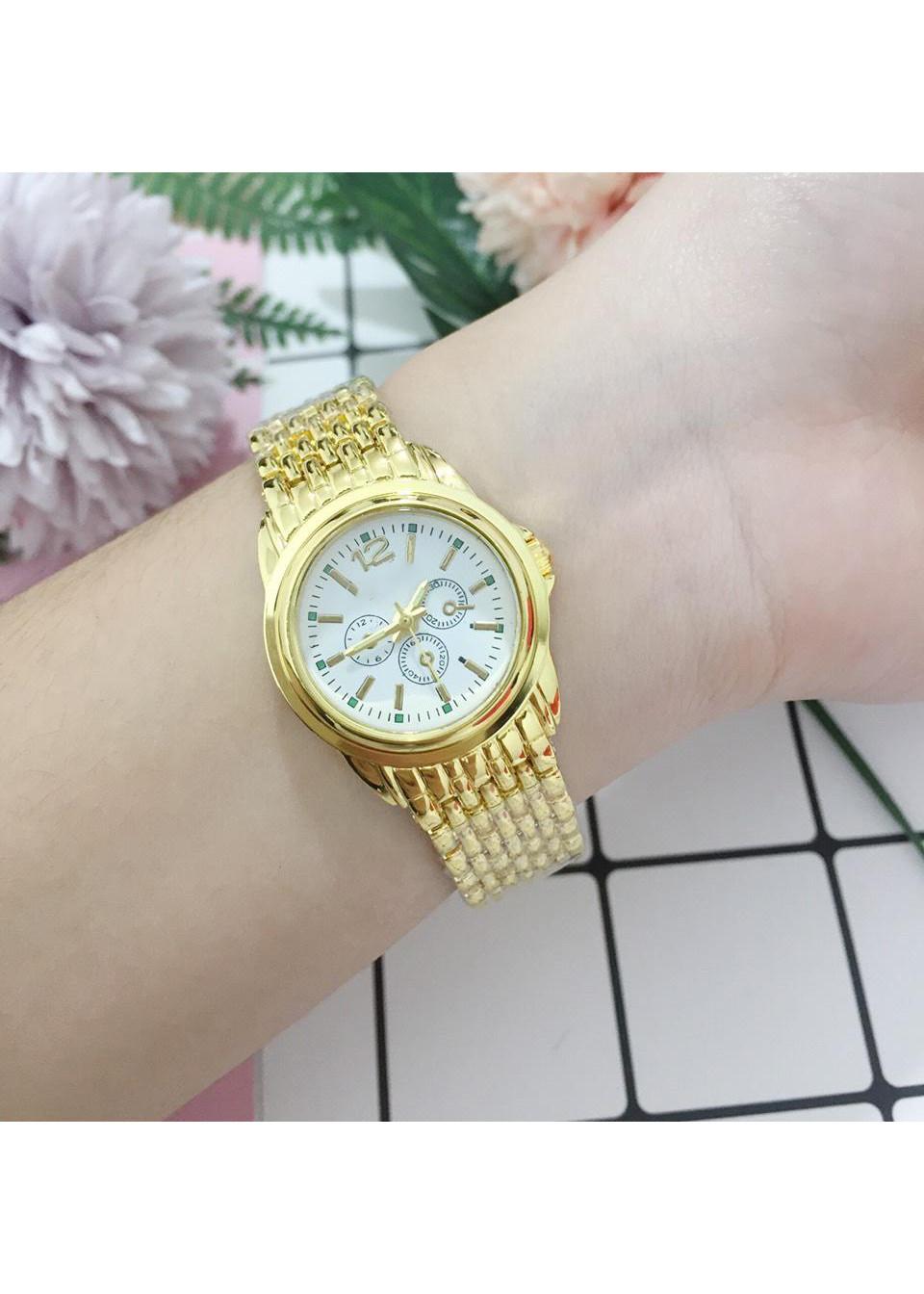 Đồng hồ thời trang nam nữ Rosra ZO58 mặt trắng dây nhuyễn