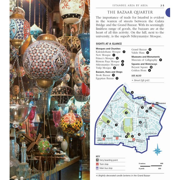 Istanbul Pocket Map and Guide