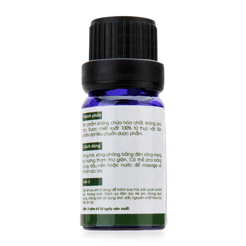 Tinh dầu bạch đàn chanh Lorganic Eucalyptus citriodora 10ml hương thơm tươi mát, tinh dầu thiên nhiên nguyên chất xông phòng, thư giãn tinh thần, đuổi muỗi và côn trùng, khử mùi hiệu quả, thích hợp dùng với đèn xông và máy khuếch tán.