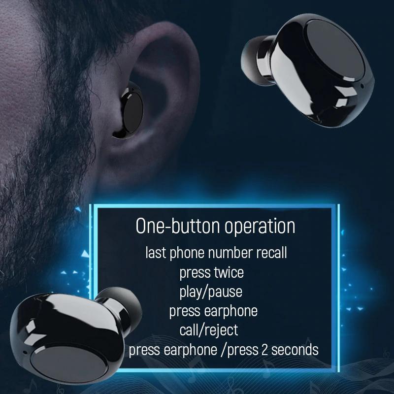 S590 TWS Bluetooth 5.0 Không Dây Tai Nghe 9D Stereo Tai Nghe Nhét Tai Điều Khiển Cảm Ứng LED Hiển Thị Kỹ Thuật Số Di Động Thể Thao Tai Nghe Nhét Tai-hàng chính hãng