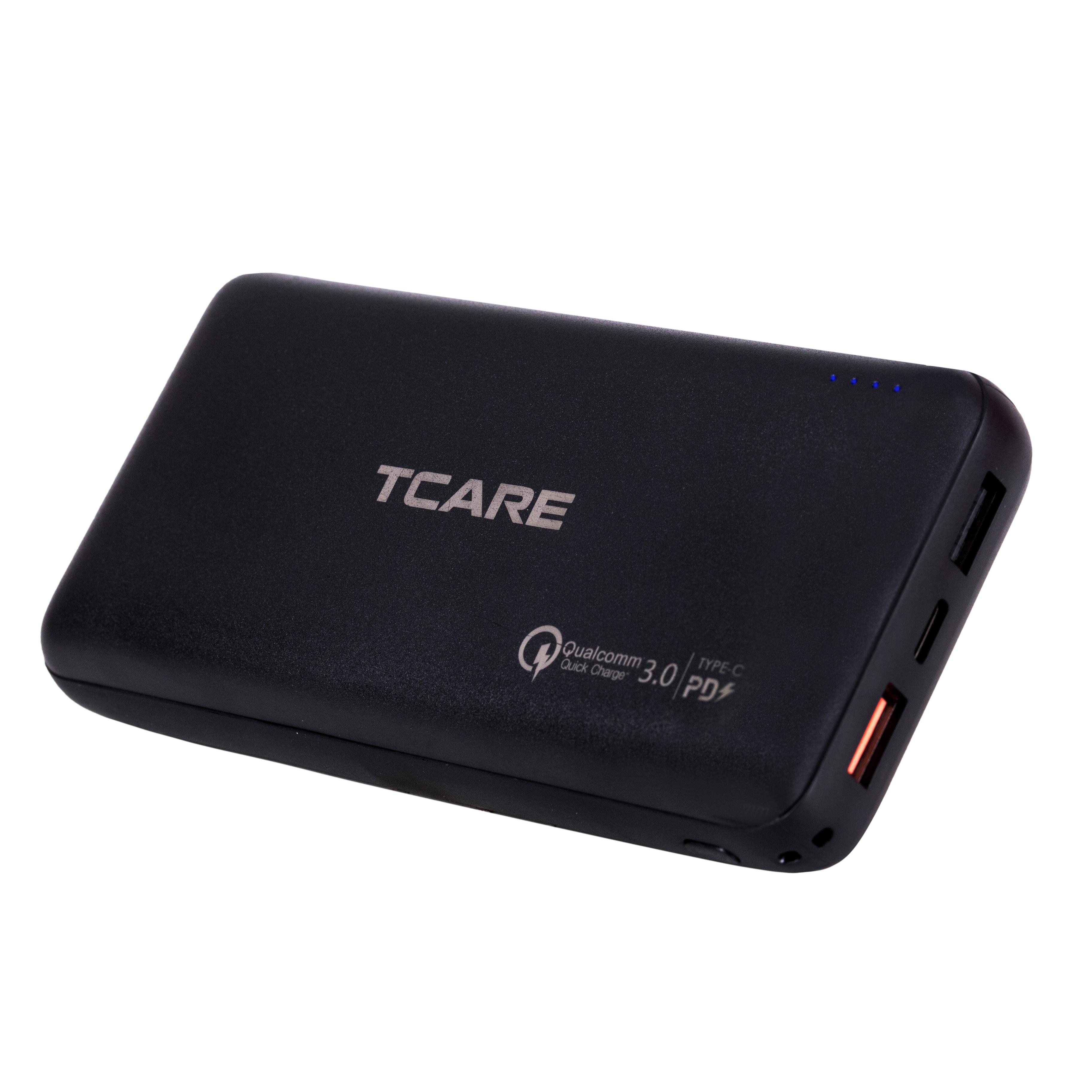 Pin sạc dự phòng Tcare QC 3.0 20000mAh T201 - Hàng chính hãng