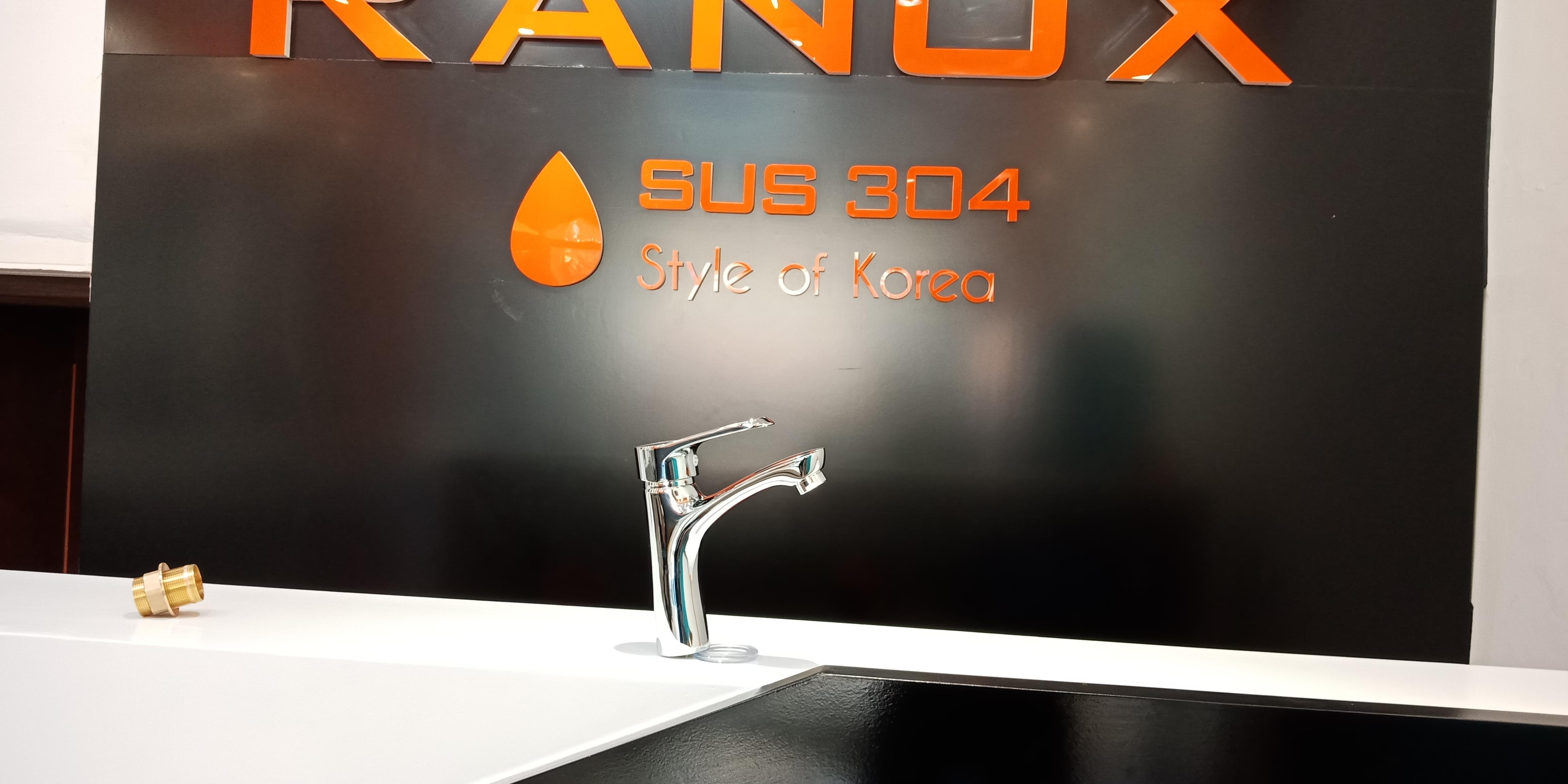Vòi rửa mặt RANOX Hàn Quốc nóng lạnh RN8013