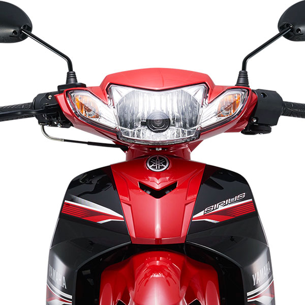 Xe Máy Yamaha Sirius Phanh Đĩa - Đỏ