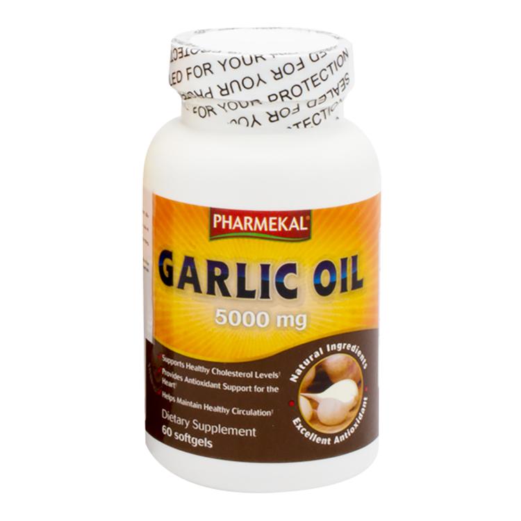 Viên Uống Dầu Tỏi Pharmekal Garlic Oil 500Mg (60 Viên) - Trắng