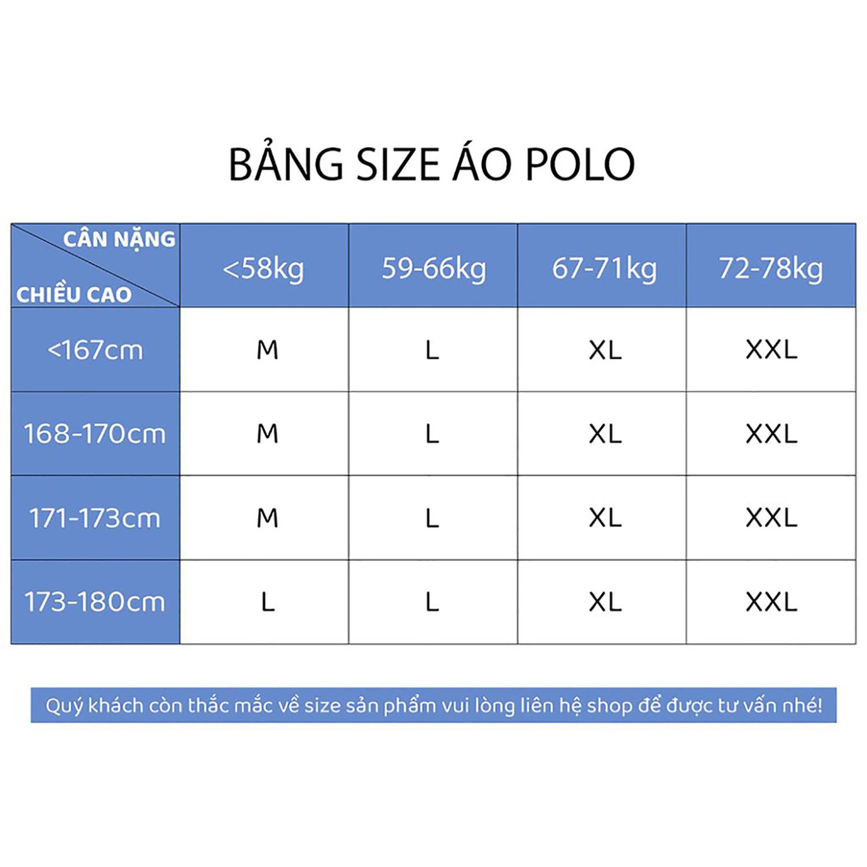 Áo Thun Nam Có Cổ Tay Ngắn Polo Trơn Thời Trang VICERO 6 Màu