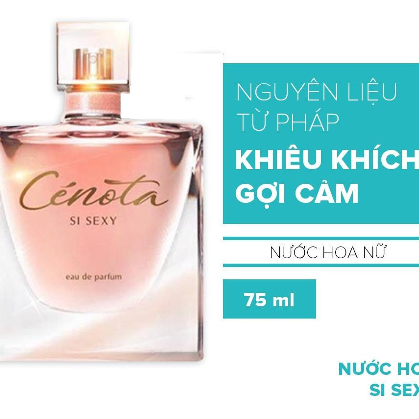 Nước hoa dành cho nữ Cenota SI SEXY 75ml